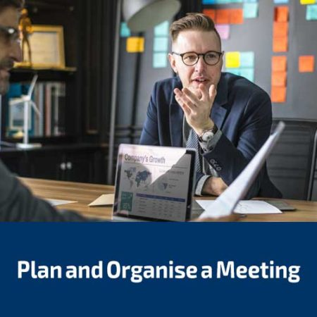 Plan and Organise a Meeting