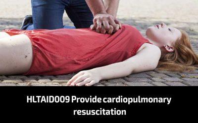HLTAID009 Provide cardiopulmonary resuscitation (CPR)