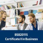 BSB20115 Certificate II in Business