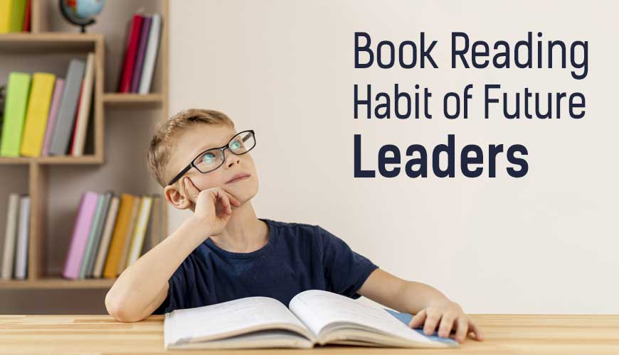 Book Reading Habit of Future Leaders